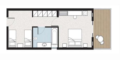 Family Room, floorplan