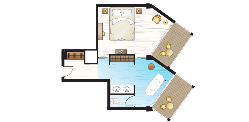 pella-beach-Junior-Suite-Side-sea-view-open-plan-with-bath-floorplan